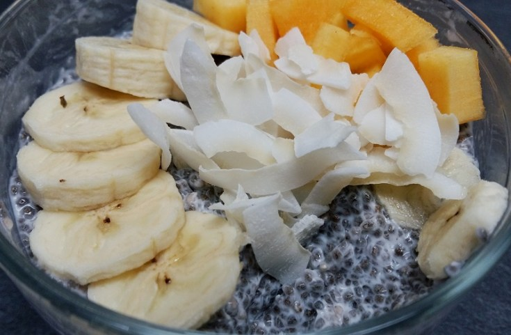 seminte de chia in cocos