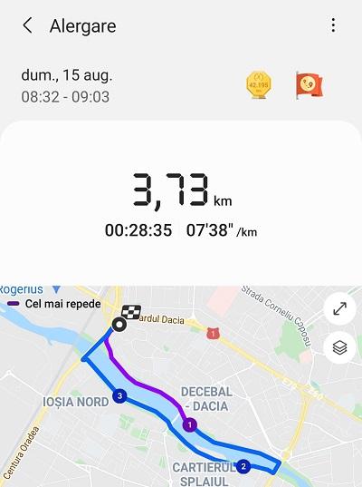 alergarea de duminica