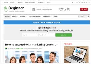 beginner-theme-an-ads-ready-wordpress-theme