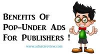 benefits of pop-under ads for publishers