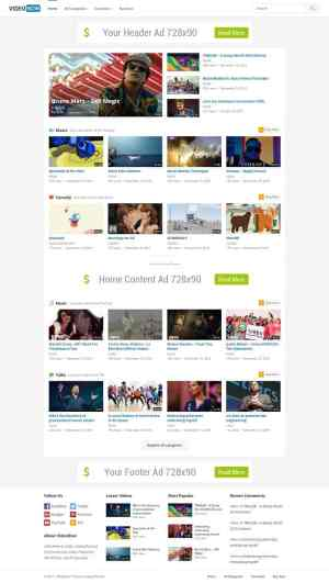 VideoNow Theme - An Ads Ready WordPress Theme For Video Websites ...