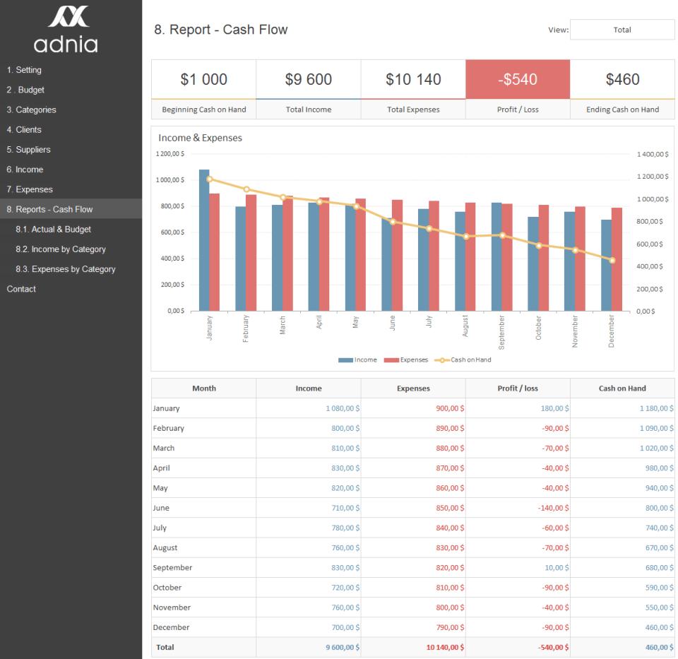 Business_Finance_Management_Rapports_Cash_Flow