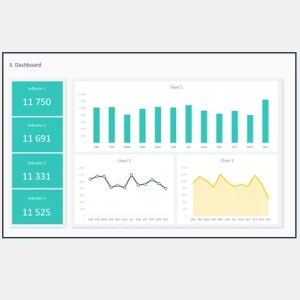Dashboard Design Layout Template I - Cover 2