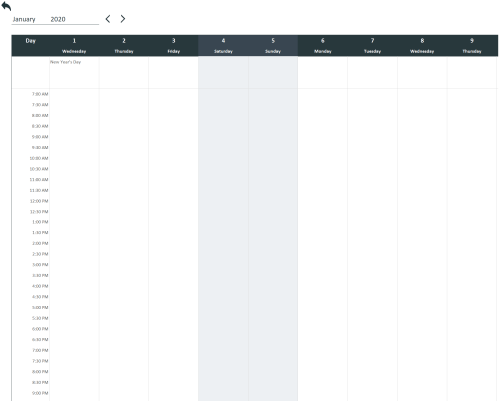 Free Daily Schedule Template Excel
