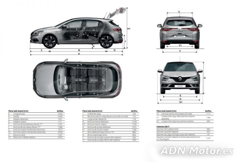 Renault Megane 1.5 dCi 110 CV, 6 Vel., Zen: Un compacto