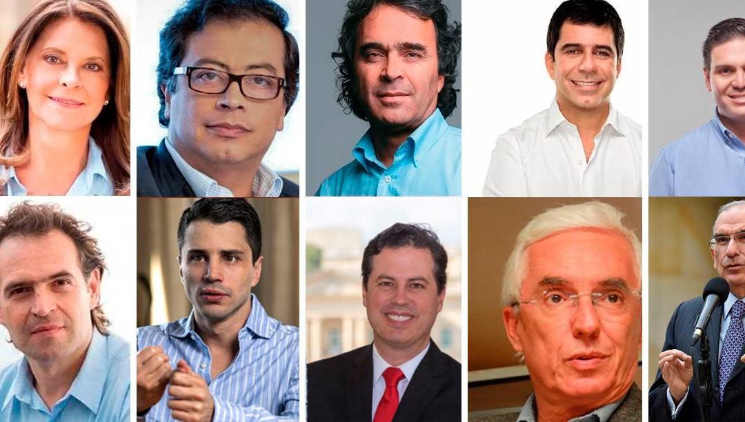 Se agita la campaña presidencial en Colombia.