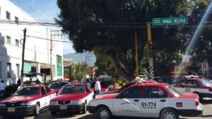 protesta taxistas col reforma