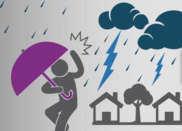 Onda tropical causará más lluvias en Morelia