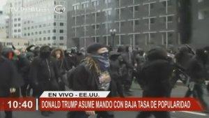 protestas por trump