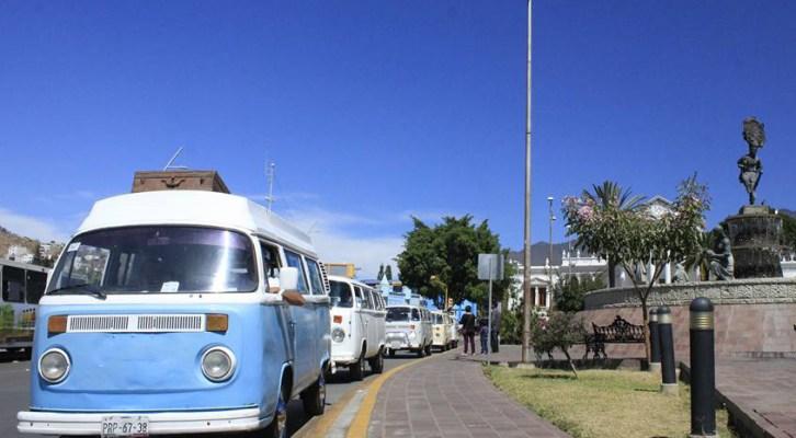 Realizan en la capital oaxaqueña la Caravana Anual para festejar a la Combi (16:30 h)