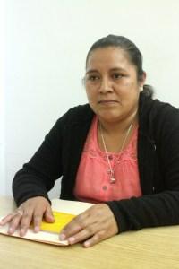 Encargada de la Junta Local de Reclutamiento, Alma Delia Blas Cruz