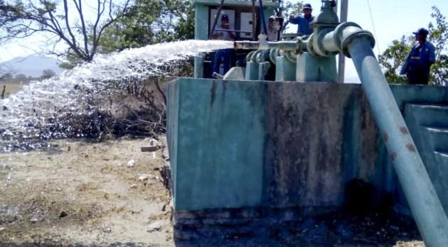 Suministro de agua potable  en la ciudad para hoy 22 de julio (10:30 h)