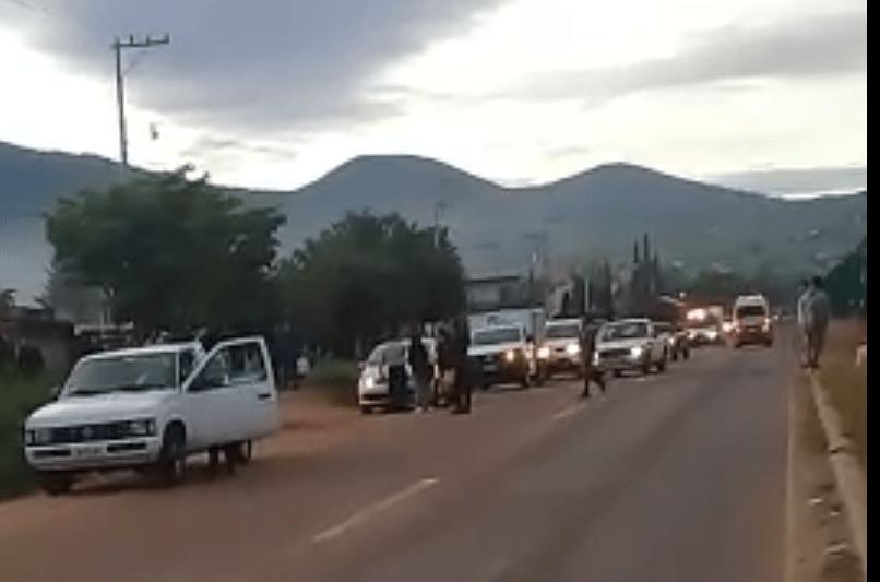 Enfrentamientos a balazos en Oaxaca ; hay dos occisos