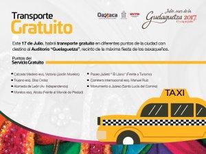 taxis gratis