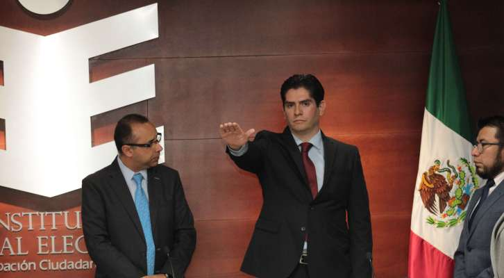 Luis Miguel Santibáñez nuevo titular de la Secretaría Ejecutiva del IEEPCO (22:15 h)