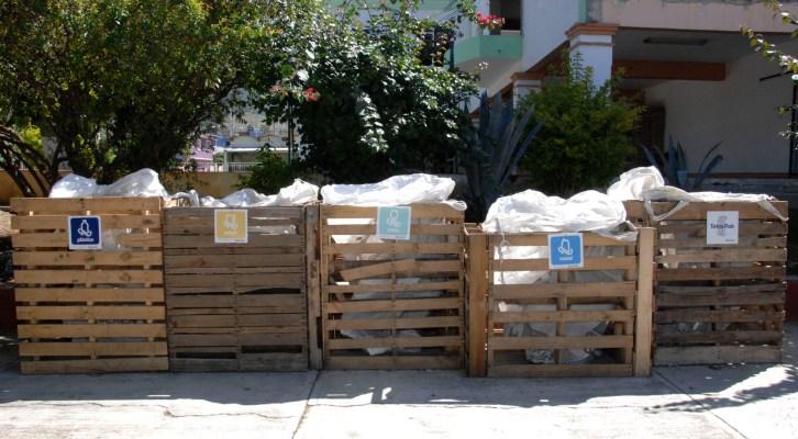 A disposición de la población centros de acopio de residuos orgánicos y reciclables (17:00 h)