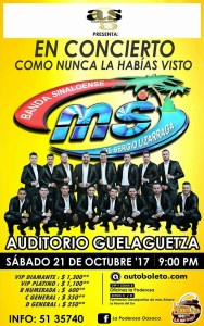 concieto banda ms oax 2017
