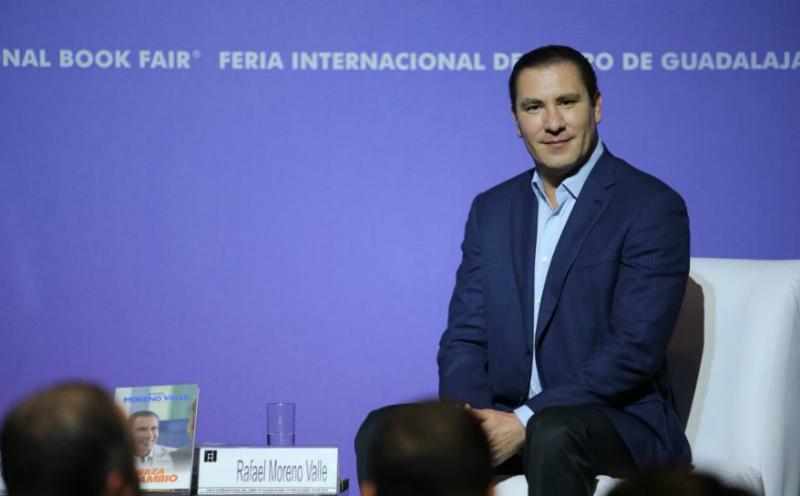 Declina Moreno Valle en favor de Anaya para candidatura