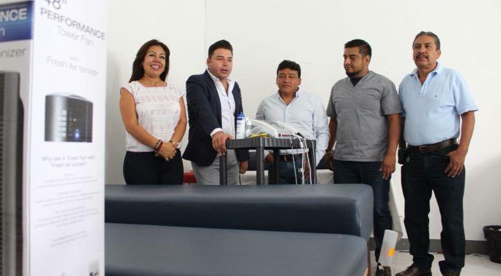 Amplia atención  a usuarios de la UBR de Santa Lucía del Camino, con nuevo equipo sofisticado (15:30 h)