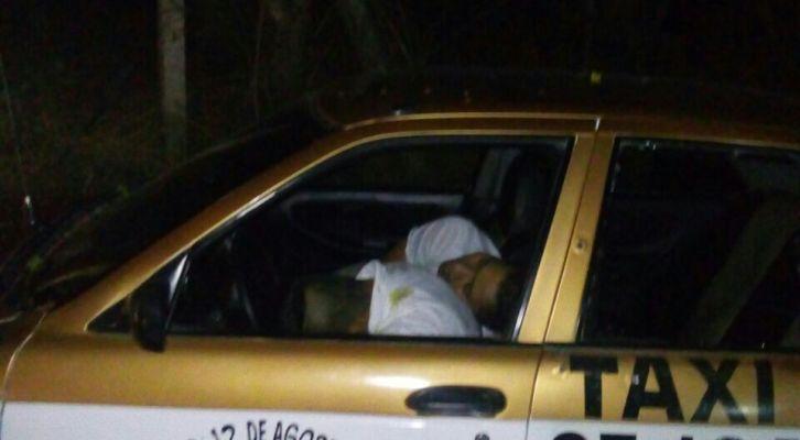 Ejecutan a balazos a taxista y su acompañante en El Colorado, Pochutla (10:50 h)