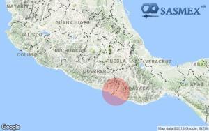 sismo costa de guerrero y oax