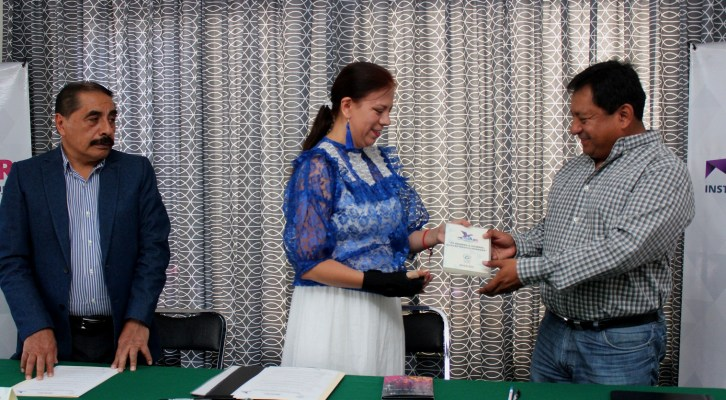 Signan convenio Instituto de la Mujer y Ojo de Agua para una difusión con perspectiva de género (15:30 h)