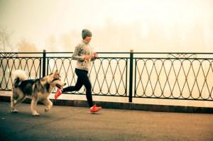 correr con mascota