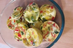cupcakes de huevo