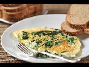 desayuno-tortilla-espinacas-adelgazar