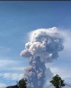 erupcion monte soputan