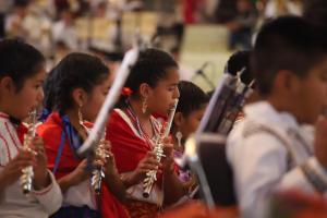 Realizan 11º Concierto Monumental de Bandas de Viento Infantiles y Juveniles de Oaxaca 3