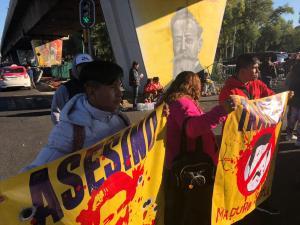 protesta contra madura frente al Congreso
