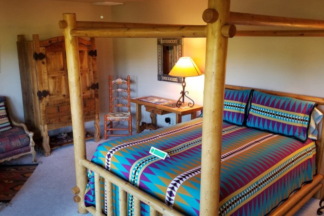 Baja Room with Bamboo Bed Frame