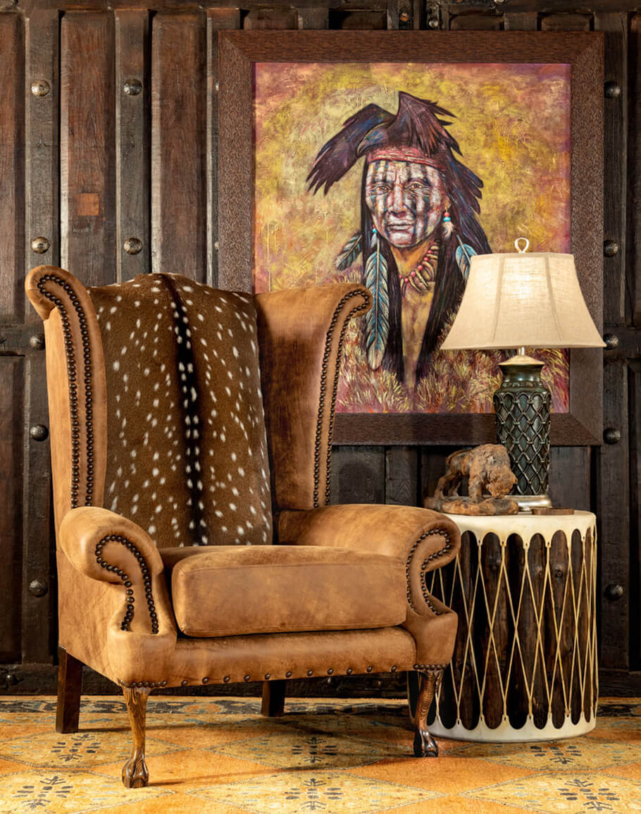 rustic accent chairs that make an