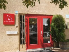 Entrance to CoLAB at Second Street Studios, Santa Fe, NM