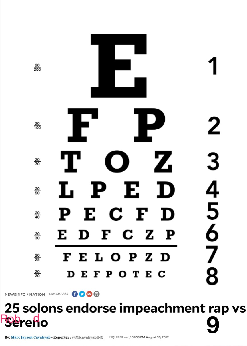 Philippine Optometric Association Unveils New Eye Test Chart