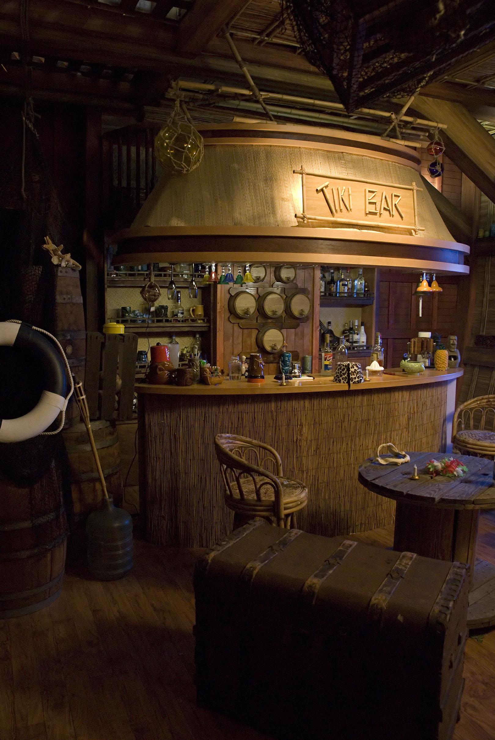 The Tiki Bar TV Set
