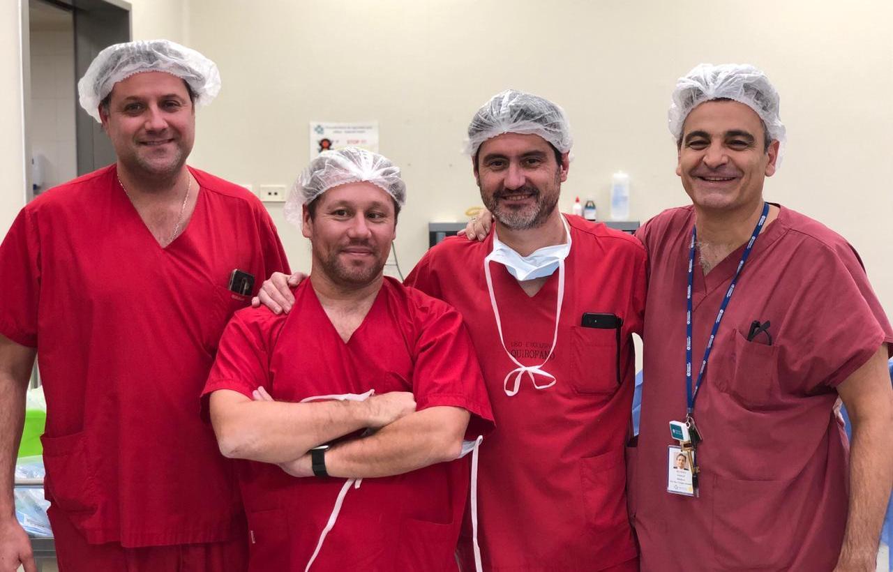 Se realizó en el país la primera cirugía fetal de espina bífida sin incisiones