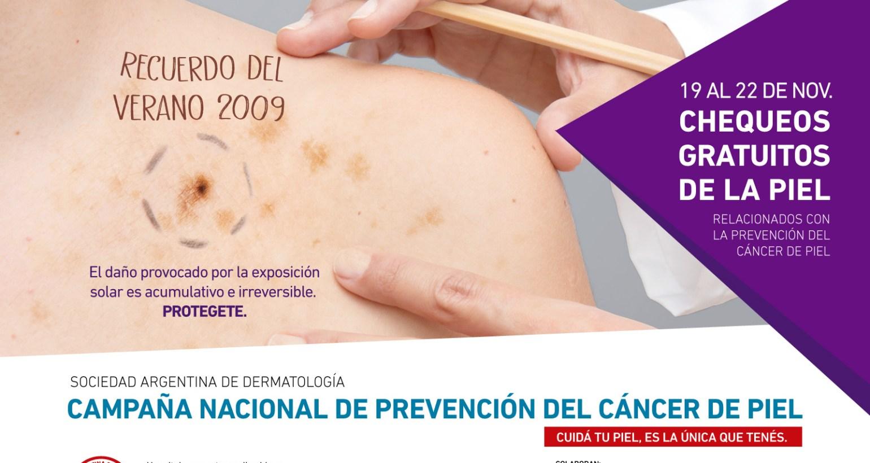 26° Campaña de Prevención del Cáncer de Piel