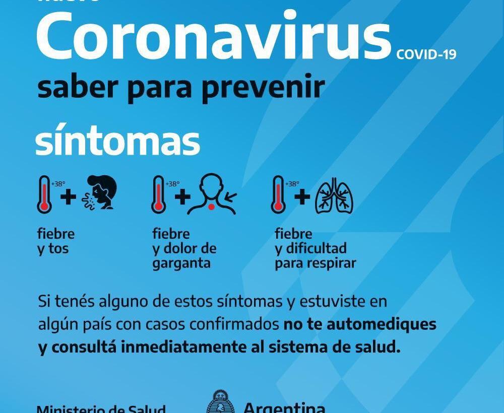 Medidas de prevención del Coronavirus