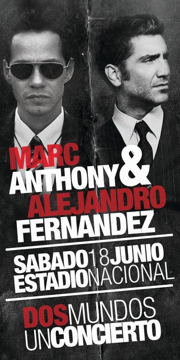 Alejandro Fernandez Marc Anthony en Costa Rica - Adondeirhoy.com