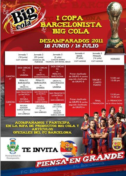 Copa Barcelonista Costa Rica - Adondeirhoy.com