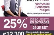 Gilberto Santa Rosa en Costa Rica - Promocion