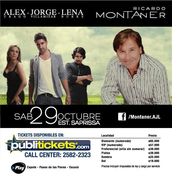 Adondeirhoy.com - Ricardo Montaner en Costa Rica
