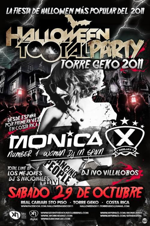Halloween Total Party Costa Rica 2011 - Adondeirhoy.com