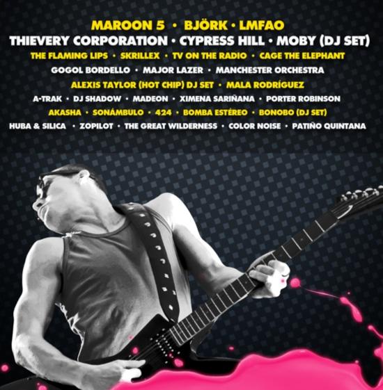 Lineup Final Festival Imperial 2012 - Adondeirhoy.com