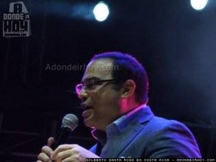 Gilberto Santa Rosa en Costa Rica