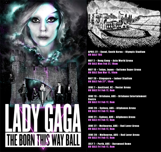 Lady Gaga en Costa Rica