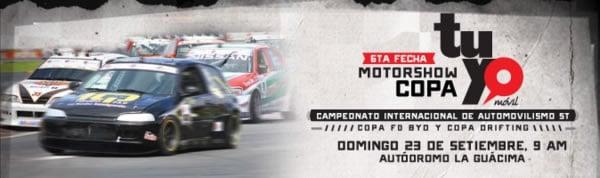 Sexta Fecha del MotorShow 2012