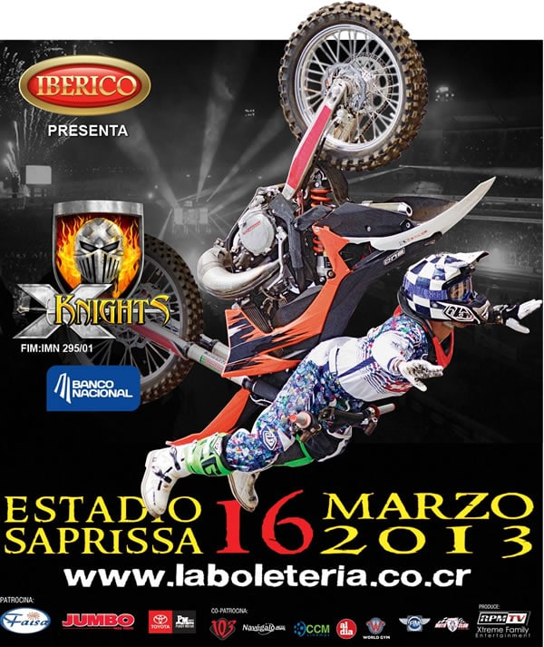 X Knights 2013 en Costa Rica